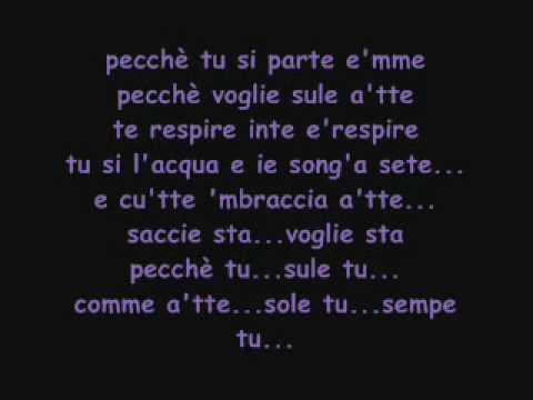 Io senza e te - Gianluca Capozzi (con testo).wmv