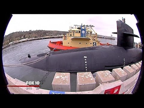 Inside the U.S.S. Ohio, a nuclear submarine in the Pacific fleet