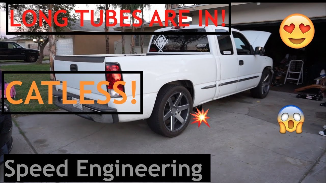 Speed Engingeering Chevy Silverado Sierra Headers Truck 07-13 4.8L 5.3L 6.0L 6.2