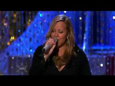 Mariah Carey - Charlie Brown Christmas (Live ABC Christmas S