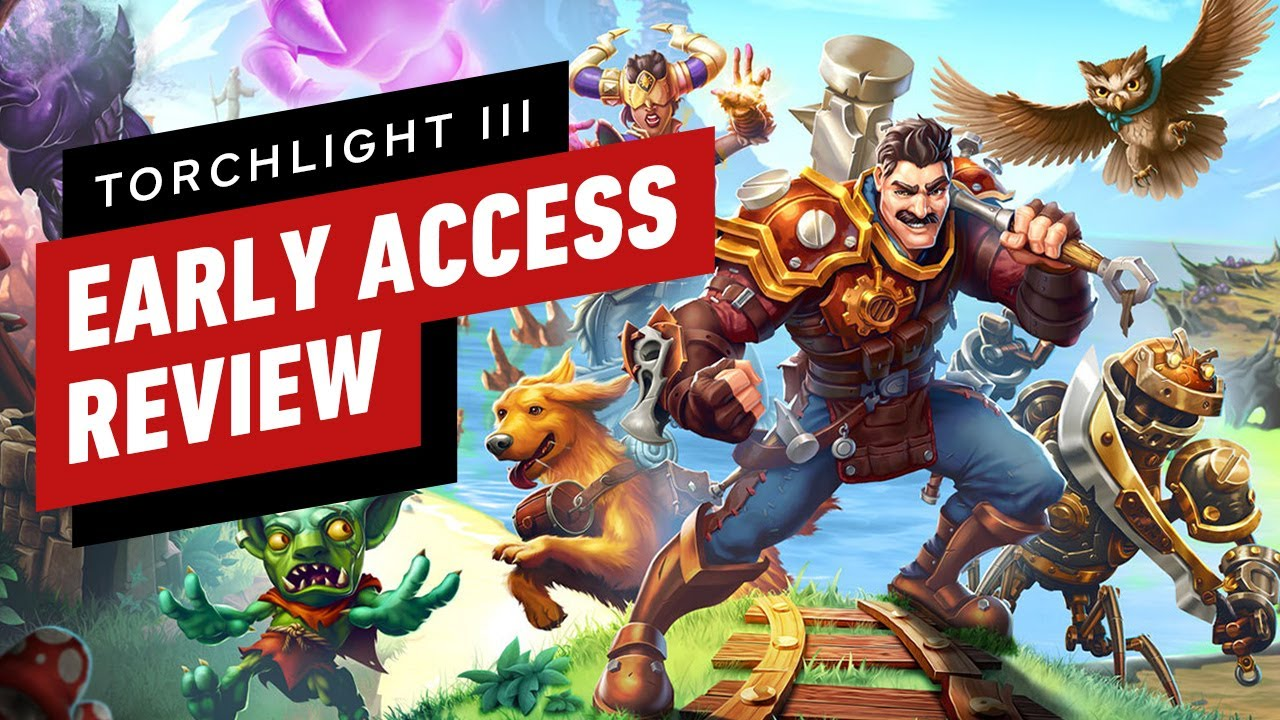 Torchlight 3 Early Access Review (Video Game Video Review)