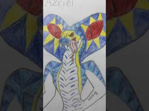My OC Azriel!