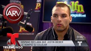 La violenta reacción de Justin Bieber con un fan | Al Rojo Vivo | Telemundo
