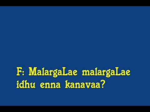 Love Birds -  Malargale Malargale Video Karaoke By Bala