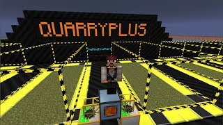 Tutorial - QuarryPlus mod: Upgrade your Quarry!