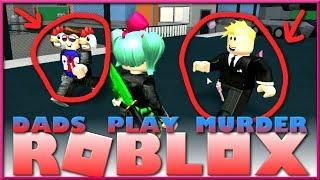 Dads Play Roblox Murder Mystery 2😳Bad Dad Jokes😳SallyGreenGamer GamerBoyJJM Laugh It Up Gaming