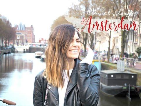 TRAVEL VLOG AMSTERDAM - MARS 2017 | LAXTITIA