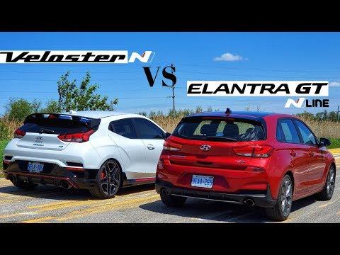 Hyundai Veloster N Vs Elantra GT NLine | Practicallity Vs Performance