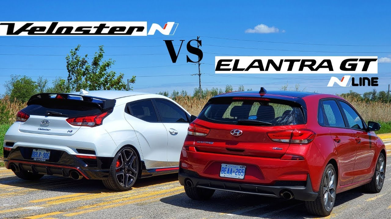 hyundai veloster n vs elantra gt nline practicallity vs performance youtube hyundai veloster n vs elantra gt nline practicallity vs performance