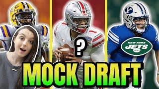 2021 NFL MOCK DRAFT 1ST ROUND