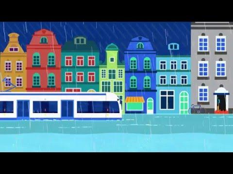 Animation Amsterdam Rainproof