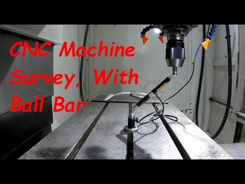 CNC Machine Survey using a Ball Bar