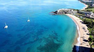 Kaanapali Beach empty during Quarantine - Maui, Hawaii - April 5, 2020