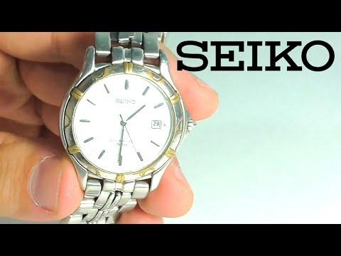 Замена батарейки на часах Seiko