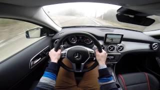 Mercedes GLA 45 AMG 4MATIC 360BHP POV test drive GoPro Video