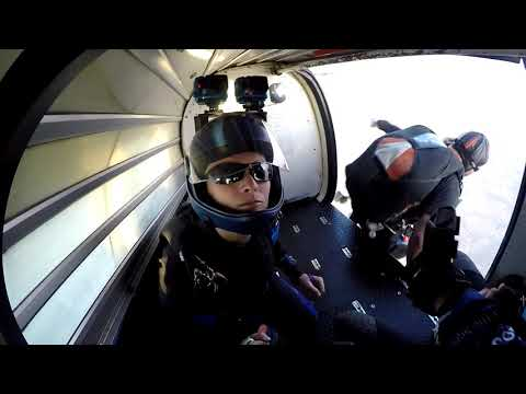 Skydiving over the Pacific Ocean - GoJump Oceanside
