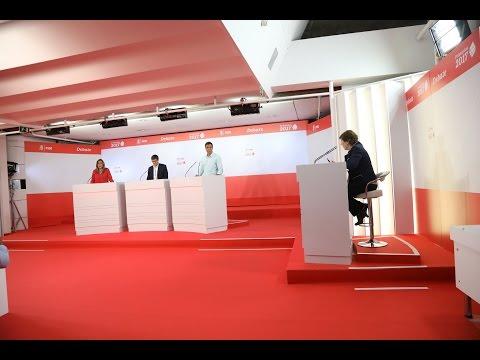Debate candidatos Primarias PSOE17