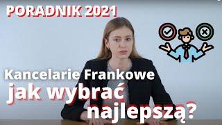 FRANKOWICZE - JAK WYBRAĆ KANCELARIE FRANKOWE - PORADNIK 2021