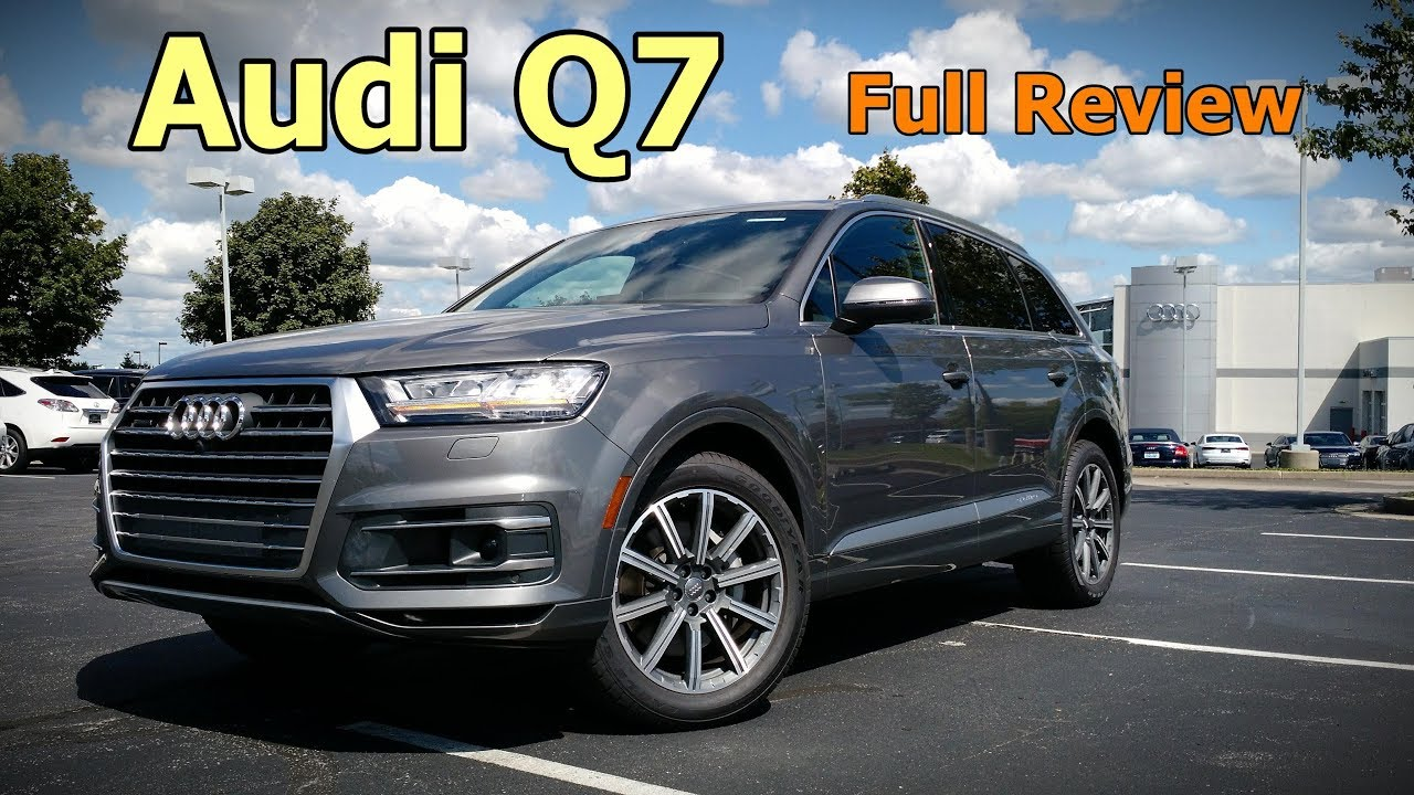 2018 audi q7 full review prestige premium plus premium youtube. Black Bedroom Furniture Sets. Home Design Ideas