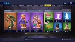 Fortnite Item Shop (T-Rex Skin Come Back)