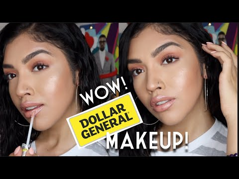Full Face DOLLAR GENERAL MAKEUP!