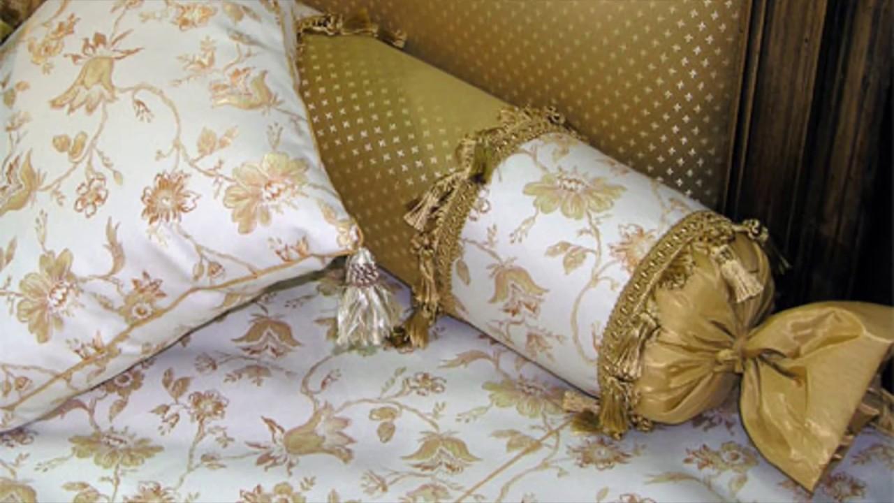 Как сшить подушку валик своими руками? Выкройки для разных 24