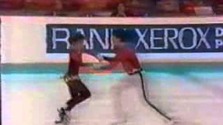 Natalia Mishkutenok & Artur Dmitriev - 1988 European Championships - SP
