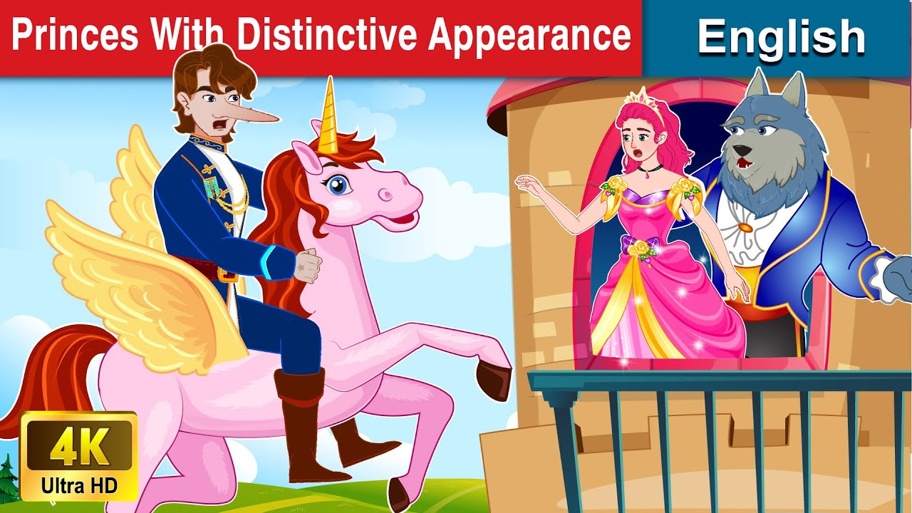 Top 5 Princes With Distinctive Appearance 🤴 Bedtime stories 🌛 Story For Teenagers | WOA Fairy Tales