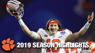 Trevor Lawrence 2019 Season Highlights | Clemson QB