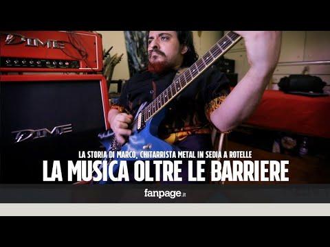 """Marco, chitarrista metal in sedia a rotelle: """"Qualcuno mi aiuti a realizzare il mio sogno"""""""