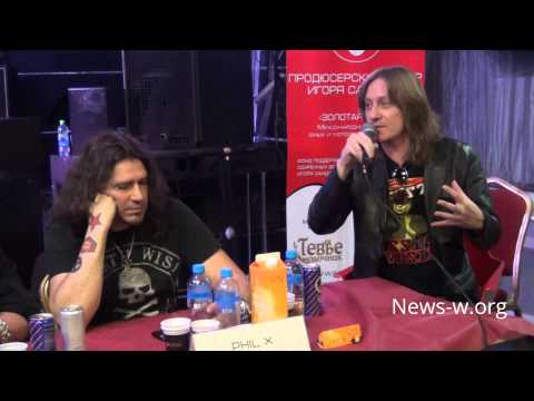 Пресс-конференция и джем Classic Rock All Stars проекта Big Noize