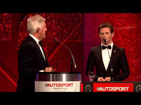 Anthony Davidson - AUTOSPORT Awards 2014