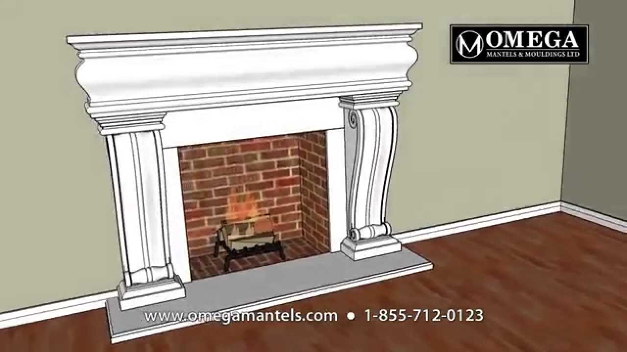 Cast Stone Mantels Grand Stock Steps Installation