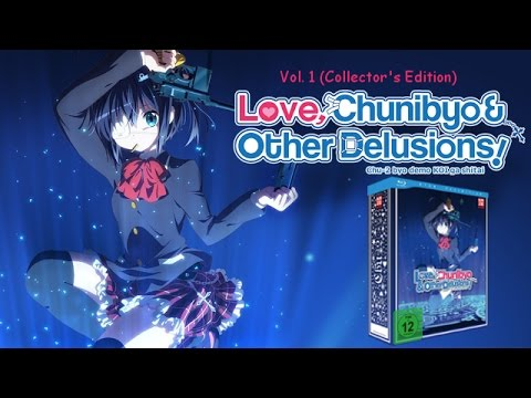 Love, Chunibyo & Other Delusions - Vol. 1 Collector's Edition Unboxing