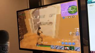 FORTNITE Getting Second Place At 5 FPS with The Lowest Settings Possible