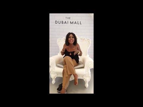 Afia Shwarzenegger Endorses Tic Tac's Action Live from Dubai