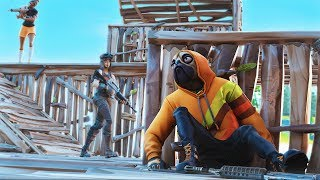 if i take damage in fortnite, the video ends