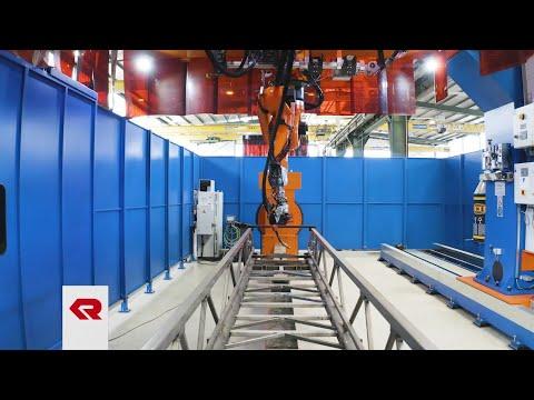 The world's most modern aerial ladder production – Rosenbauer in Karlsruhe