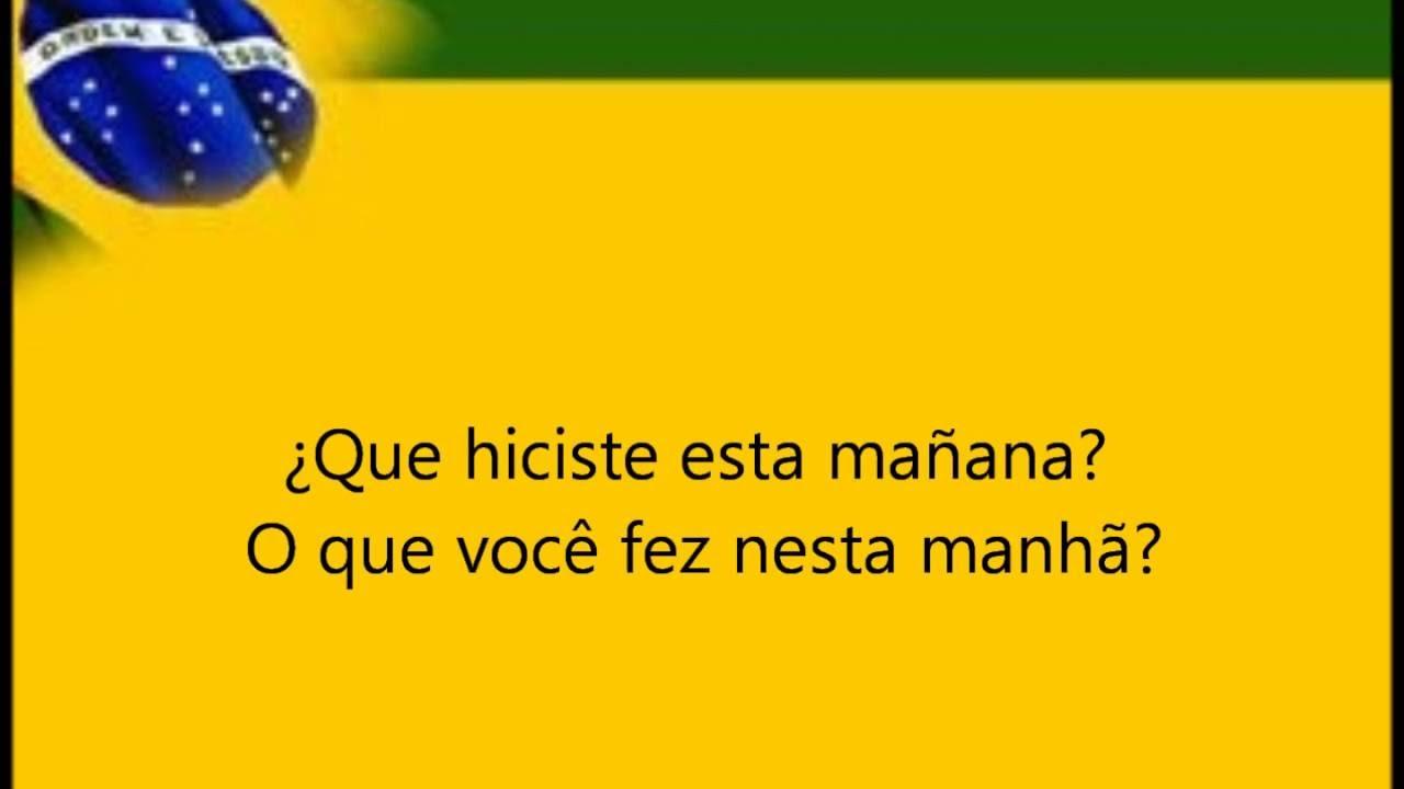 Aprender Portugues 150 Frases En Portugues Basicas Youtube
