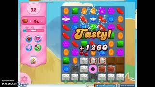 Candy Crush Level 729 Audio Talkthrough, 3 Stars 0 Boosters