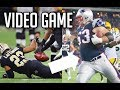 """NFL Best """"Video Game"""" Like Plays    HD Pt 2"""