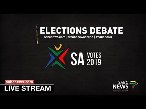 #SABCNews  FullView election debate: 25 April 2019