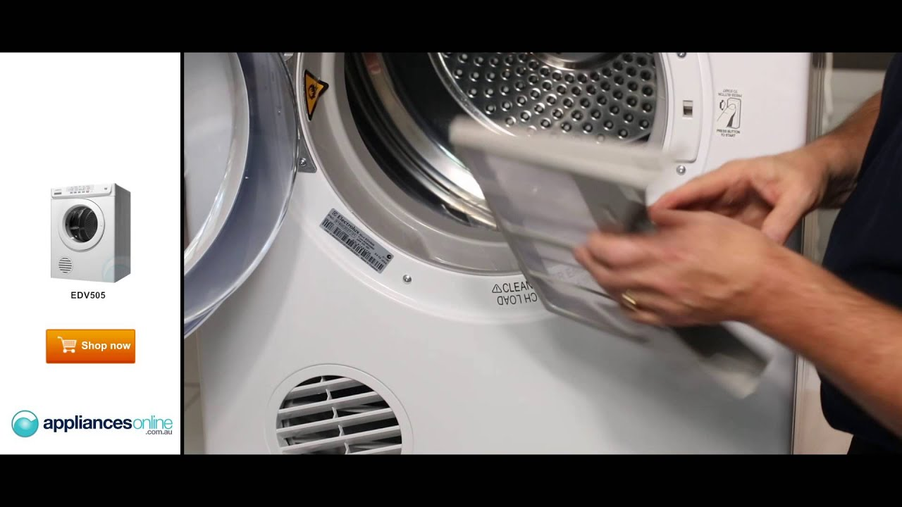 Product Expert Explains Electrolux S Easy To Use Edv505