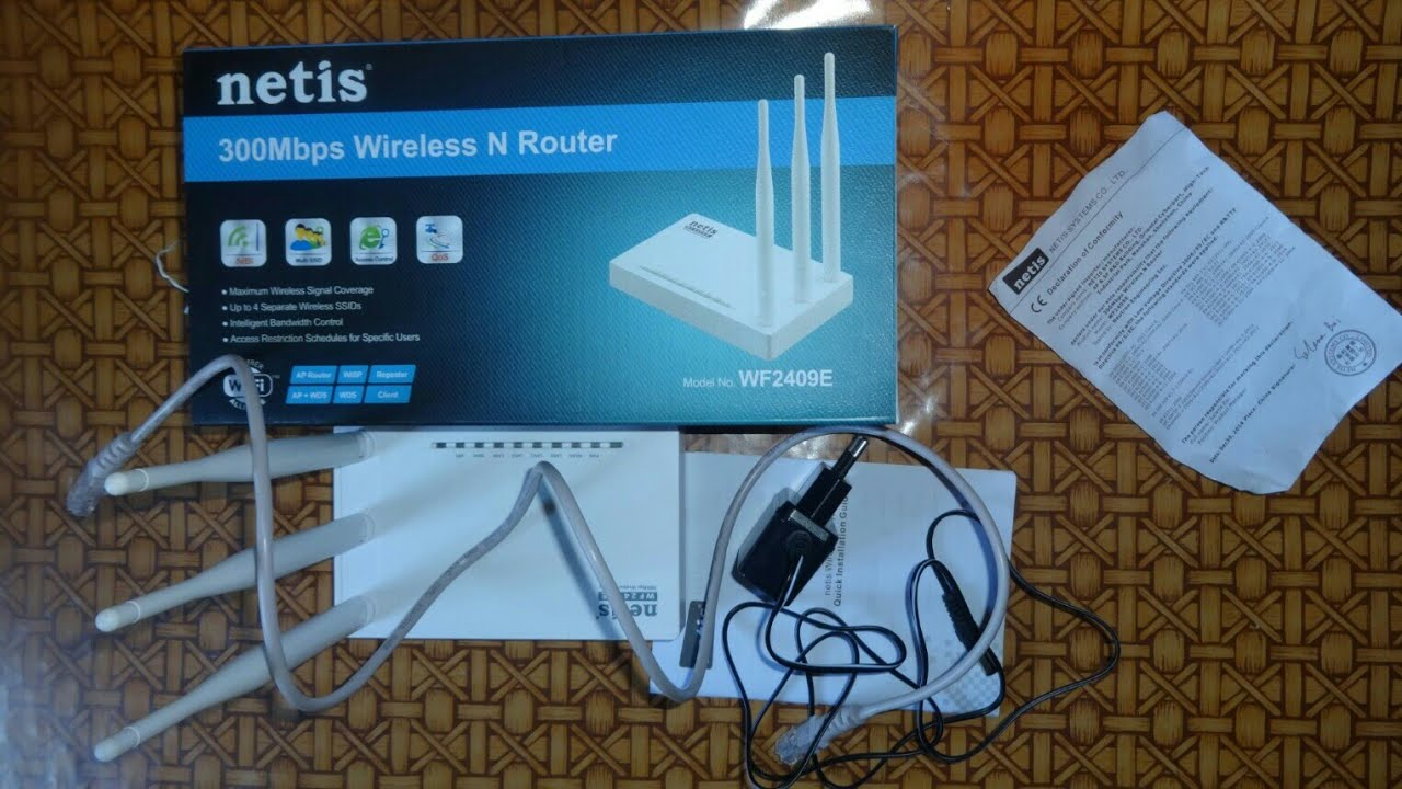 NETIS WF2409E ROUTER DRIVERS FOR PC