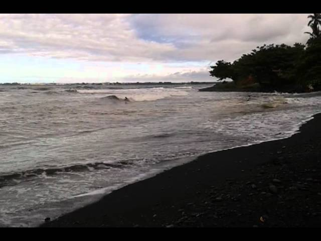 Honolii Paka 7/18/2012 from black sand beach