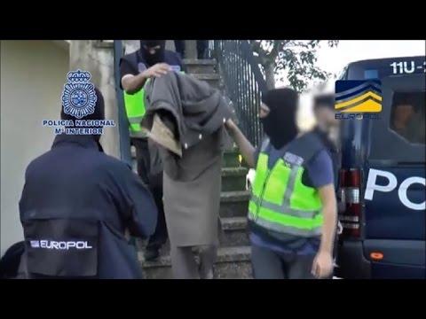 Detenidos seis presuntos yihadistas en España, Alemania y GB