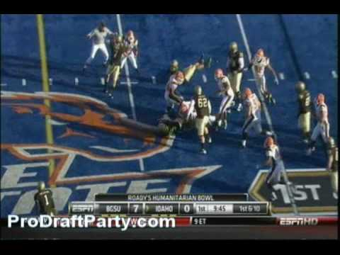 LG Mike Iupati Highlights 2009 Idaho vs Bowling Green