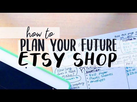 Do This Before Starting An Etsy Shop in 2021 (FREE Planning Worksheets!)