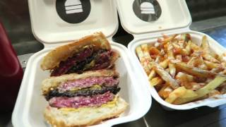 bleecker street burger bleeker black best in london street food