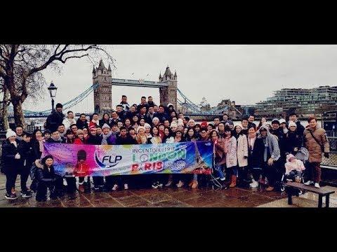 (FLP REALTY) LONDON & PARIS Incentive Trip 2017 [11-18DEC2017]